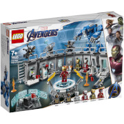 LEGO Super Heroes: Iron Mans Werkstatt 76125