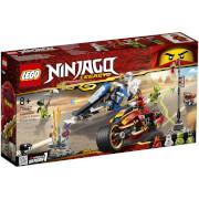 LEGO Ninjago: Kai's Blade Cycle and Zane's Snowmobile 70667