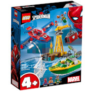 LEGO 4+ Super Heroes: Spiderman Dock Ock Diamond Heist 76134