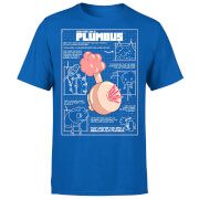 Zavvi Exclusive Rick and Morty Plumbus Men's T-Shirt - Royal Blue