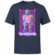 Rick and Morty Gearhead Men's T-Shirt - Navy
