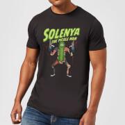T-Shirt Rick e Morty Solenya - Nero - Uomo