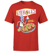 Zavvi Exclusive Rick and Morty Eyeholes Men's T-Shirt - Red