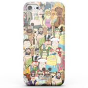 Rick and Morty Interdimentional TV Characters Phone Case for iPhone and Android