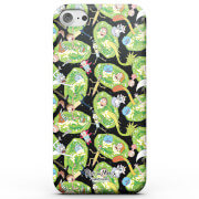 Rick and Morty Portals Characters Phone Case for iPhone and Android