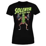 Rick and Morty Solenya Women's T-Shirt - Black