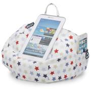 iBeani iPad, Tablet und E-Reader Sitzsackstand - Blaue und Rote Sterne