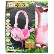 TabZoo Plush Rabbit Childrens Wired Headphones