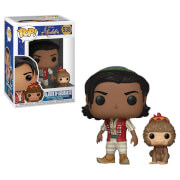Figurine Pop! Aladdin avec Abu Aladdin Disney (Remake)