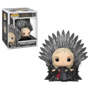 Click to view product details and reviews for Game Of Thrones Daenerys On Iron Throne Pop Vinyl Deluxe.