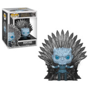 Game Of Thrones Night King On Iron Throne Pop Vinyl Deluxe