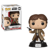 Figurine Pop! Han Solo Endor - Star Wars