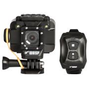 Waspcam 9905 1080p HD Wi-Fi Action Camera with Wrist Remote - Black