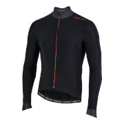 Image of Nalini Pro Gara Long Sleeve Jersey - M - Black/Red