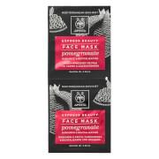 Купить Маска для придания коже лица сияния с экстрактом граната APIVITA Express Radiance Face Mask — Pomegranate 2x8 мл