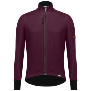 Santini Beta Winter Windstopper Jacket – Bordeaux – L – Burgundy