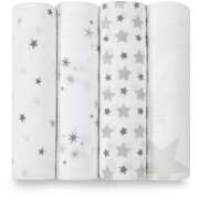 aden + anais Classic Swaddle 4 Pack Twinkle
