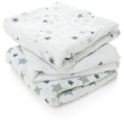 Image of aden + anais Classic Muslin Squares 3-Pack Twinkle