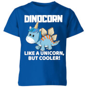 Big And Beautiful Dinocorn Kids' T-Shirt - Royal Blue