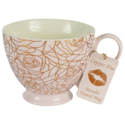 Roses Mug - Rose Gold and Pink