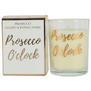 Prosecco O'Clock Candle in Gift Box - Rose Gold