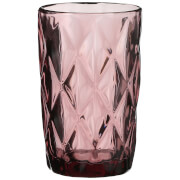 Boulogne Long Glass Tumbler - Purple