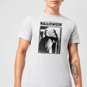 Halloween Framed Mike Myers Mens T-Shirt - Grey - 3XL - Grey