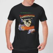 T shirt homme frankenstein affiche rétro universal monsters noir m noir