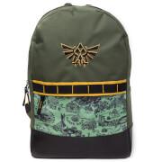 Nintendo The Legend of Zelda Allover Printed Backpack - Green