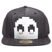 Pac-Man Blinky Denim Snapback - Charcoal