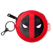 Marvel Deadpool Men's Coin Purse Wallet - Red