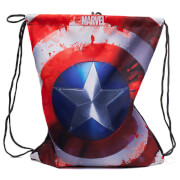 Marvel Captain America Men's Gym Bag - Red