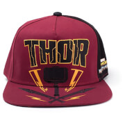 Marvel Thor Ragnarok Men's Thor Hammer Snapback - Red