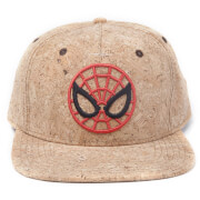 Marvel Ultimate Spider-Man Men's Spidey Cork Snapback Cap - Rust