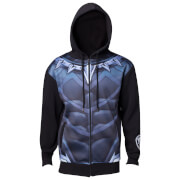 Marvel Black Panther Men's Sublimated Suit Hoody - Black
