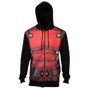 Marvel Deadpool Men's Sublimated Hoody - Black