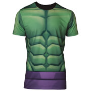 Marvel Men's Hulk Sublimated T-Shirt - Green