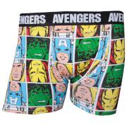 Marvel Avengers Men's Characters Boxers - Black