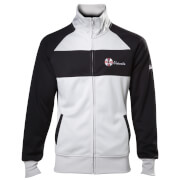 Resident Evil Men's Umbrella Operative Track Jacket - White