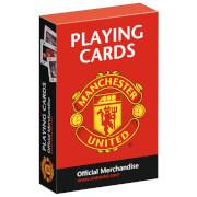 Waddingtons No. 1 Playing Cards - Man United