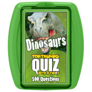 Image of Top Trumps Quiz Game - Dinosaurs Edition