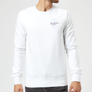 If Youre Not Alive, High Five Sweatshirt - White - L - White