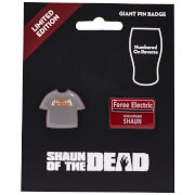Shaun of the Dead Limited Edition Pin Badge Set