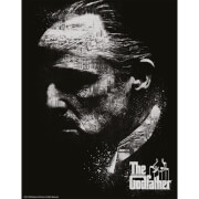 The Godfather Limited Edition Art Print - Black