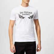 Dsquared2 Men's 24-7 T-Shirt - White/Black