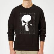 Marvel Punisher Christmas Sweatshirt - Black - 5XL - Black