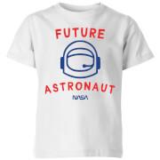 NASA Space Cadets Future Astronaut Kids' T-Shirt - White