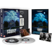 Die rabenschwarze Nacht - Fright Night Zavvi Exklusive VHS Limited Edition Dual Format (Inkl. Blu-ray & DVD)