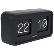 Karlsson Flip Clock Bold - Black