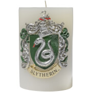 Harry Potter Sculpted Insignia Candle - Slytherin